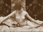 Antique Bare Pinup Images c. 1900