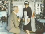 Old Stud Jean Villroy gets a Gargle Job From Maid…Wear-Tweed