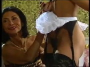 Mature woman and her ebony maid doing a dude – vintage