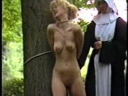 2 nuns penalize and humiliate a youthfull girl