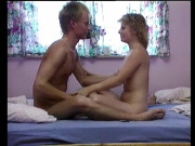 Hookup episode and genital examination in Danish 90s orgy ed show